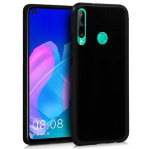 Funda Silicona Huawei P40 Lite E (Negro)