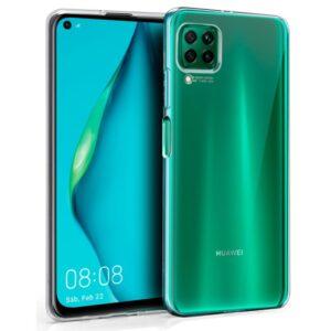Funda Silicona Para Huawei P40 Lite (Transparente)