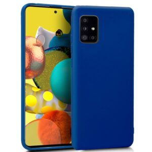Funda Silicona Samsung A516 Galaxy A51 5G (Azul)