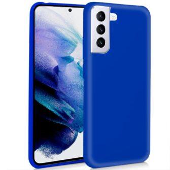 Funda Silicona Samsung G996 Galaxy S21 Plus (Azul)