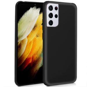 Funda COOL Silicona Para Samsung G998 Galaxy S21 Ultra (Negro)