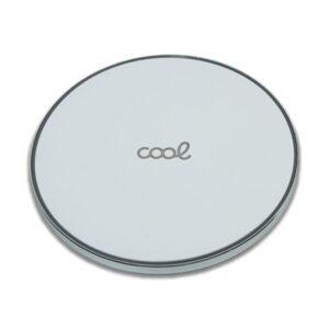 Cargador Inalámbrico COOL Qi Universal (Carga Rápida) Blanco