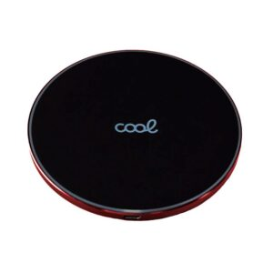 Cargador Inalámbrico COOL Qi Universal (Carga Rápida) Negro