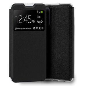 Funda Flip Cover Para Samsung A725 Galaxy A72 Liso Negro