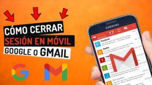 como cerrar sesion gmail movil