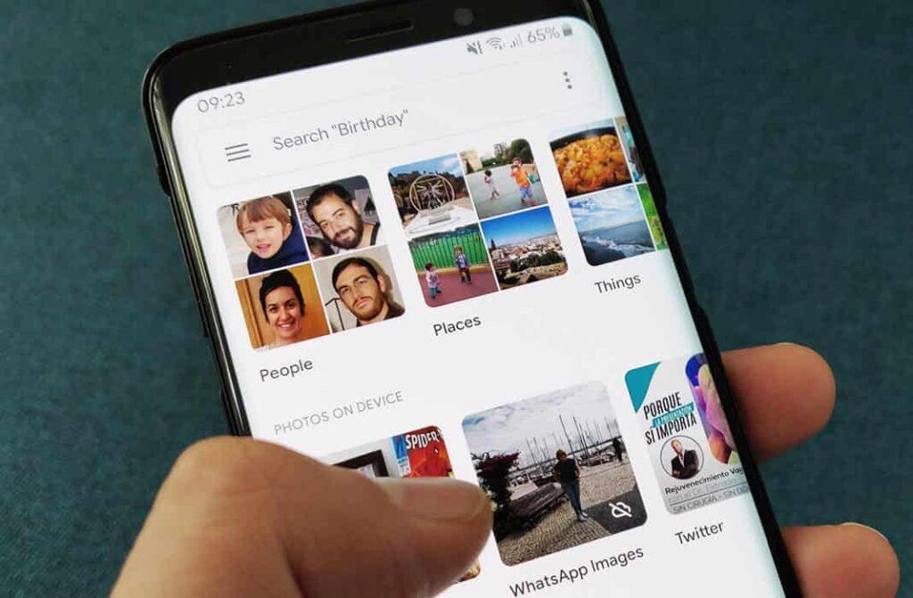 Cómo se pueden recuperar las fotos borrados del móvil en Android