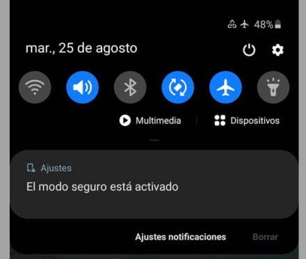 Cómo quitar el modo seguro de Android