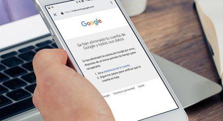 Eliminar por completo cuenta de Google