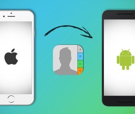 Cómo pasar datos y contactos de Android a iPhone
